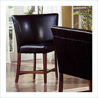 Steve Silver Company Plato Black Counter Height Corner Chair