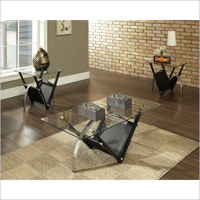 Steve Silver Company Tribecca 3 Piece Coffee Table Set