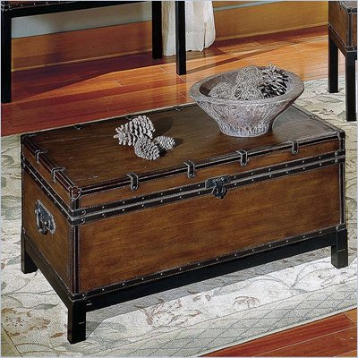 Steve Silver Company Voyage Trunk Coffee Table