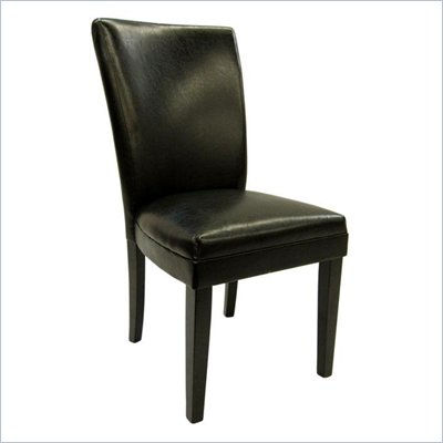Steve Silver Company Willow Parsons Chair in Black