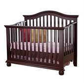 Sorelle Vista 4-in-1 Baby Crib in Espresso