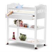 Sorelle Nicki Solid Pine Changing Table in French White
