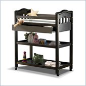 Sorelle Nicki Solid Pine Changing Table in Espresso