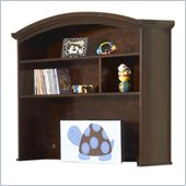 Sorelle Sophia Combination Baby Nursery  Hutch in Espresso