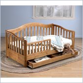 Sorelle Grande Toddler Bed in Oak On Pine