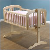 Sorelle Standa Cradle w/ Mattress in Natural