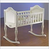Sorelle Lisa Baby Cradle in French White