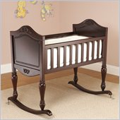 Sorelle Lisa Baby Cradle in Espresso