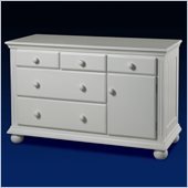 Sorelle Vista Combo Dresser in French White