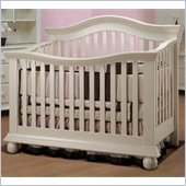 Sorelle Vista Couture Baby Crib in Espresso