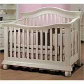 Sorelle Vista Couture Baby Crib in French White