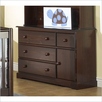 Sorelle Sophia Four Drawer Combo Dresser/Changing Table