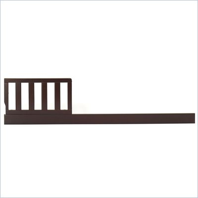 Sorelle Tuscany Toddler Guard Rails in Espresso