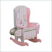 Teamson Kids Bunny Sue Bouquet Hand Painted Girl's Potty Chair