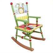 Teamson Kids Sunny Safari Hand Painted Rocking Chair
