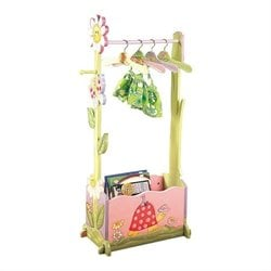 Teamson Kids Magic Garden Valet Rack Picture