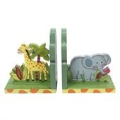 Teamson Kids Sunny Safari Painted Book Ends