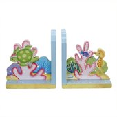 Teamson Kids Under the Sea Hand Painted Book Ends