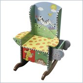 Teamson Kids Sunny Safari Painted Potty Chair