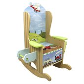 Teamson Kids Transportation Hand Painted Potty Chair