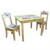 Teamson Kids Transportation Hand Painted Table