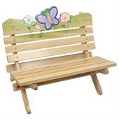 Teamson Kids Magic Garden Outdoor Bench 