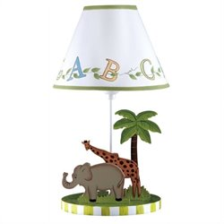 Fantasy Fields Alphabet Table Lamp