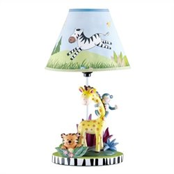 Fantasy Fields Sunny Safari Table Lamp