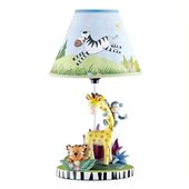 Teamson Kids Sunny Safari Collection Table Lamp