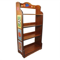 Fantasy Fields Hand Painted Little Sports Fan Bookshelf