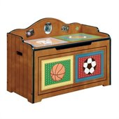 Teamson Kids Little Sports Fan Toy Chest 