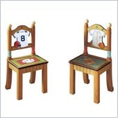 Teamson Kids Little Sports Fan Set of 2 Chairs 