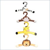 Teamson Kids Sunny Safari Set of 4 Hangers