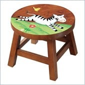 Teamson Kids Stool - Zebra