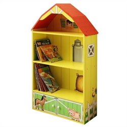 Fantasy Fields Hand Painted Happy Farm Barn Bookshelf