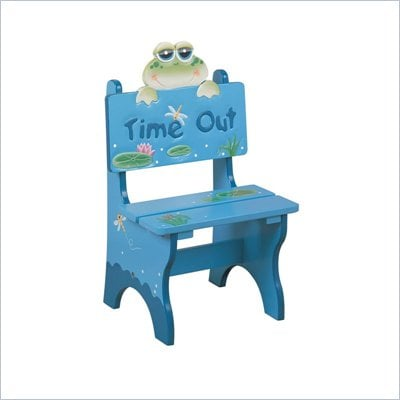 Teamson Kids Froggy Hand Painted Kid Time Out Chair
