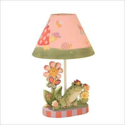 Teamson Design Magic Garden Hand Painted Kids Table Lamp