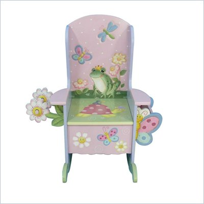 Teamson Kids Hand Painted Garden Kids Potty Chair