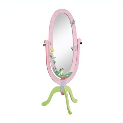 Teamson Kids Magic Garden Standing Mirror