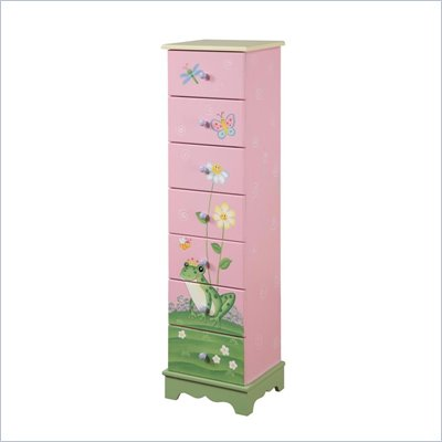Teamson Kids Magic Garden 7 Drawer Cabinet