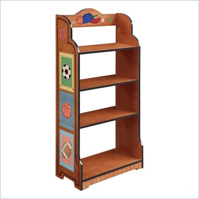 Teamson Kids Little Sports Fan Bookcase 