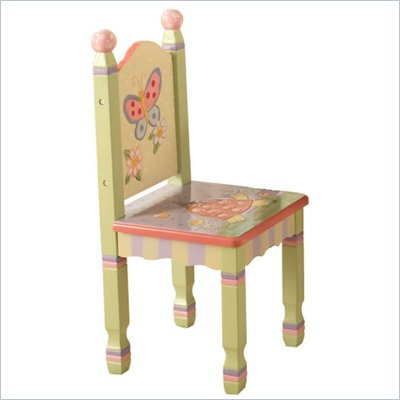 Teamson Kids Magic Garden Hand Painted Set of 2 Kids Chairs