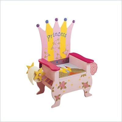 Teamson Kids Hand Painted Princess Potty Chair