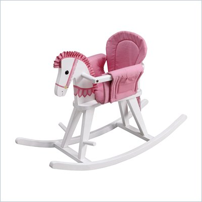 Teamson Kids Rocking Horse in White