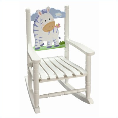 Teamson Kids Rocking Chair Zebra