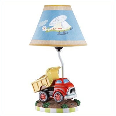 Teamson Kids Transportation Collection Table Lamp