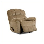 Simmons Upholstery Rocker Recliner in Victor Sand