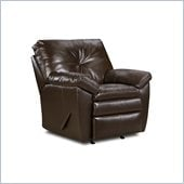 Simmons Upholstery Recliner Chair in Sebring Coffeebean