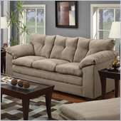 Simmons Upholstery Sofa in Luna Mineral