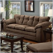 Simmons Upholstery Sofa  in Luna Chocolate